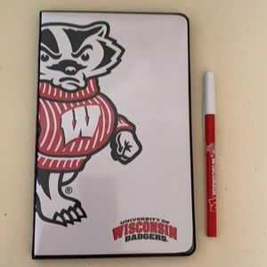 University of Wisconsin Notepad and Pen